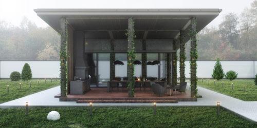 ZEN – Дизайн-проект гостьового будиночка