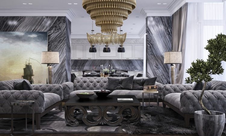 CLASSIC дизайн інтер'єру квартири в Києві