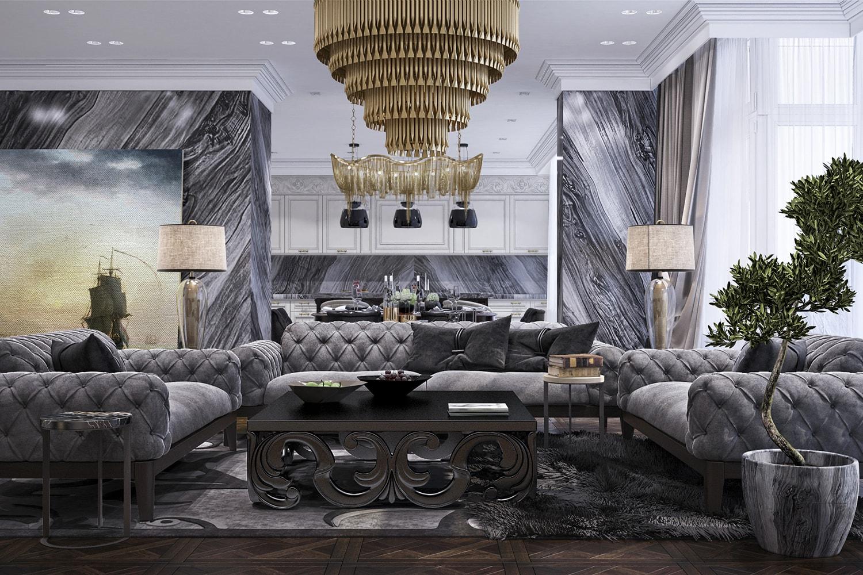 CLASSIC дизайн интерьера квартиры, Киев