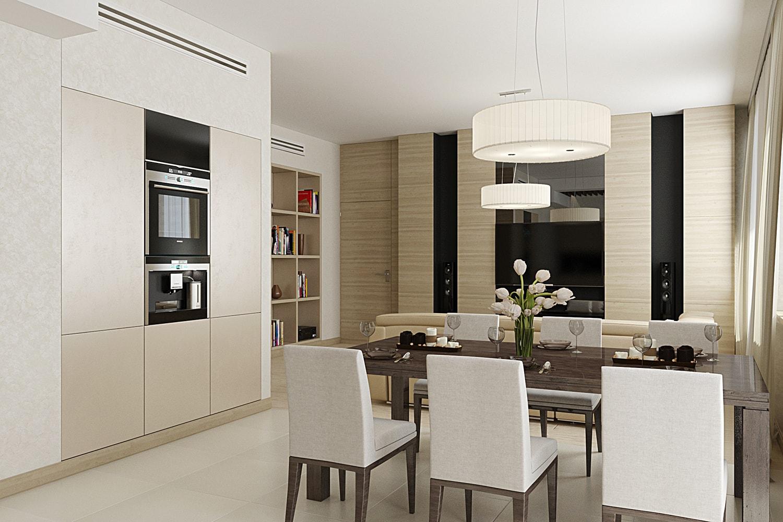LIGHT APARTMENT дизайн интерьера квартиры